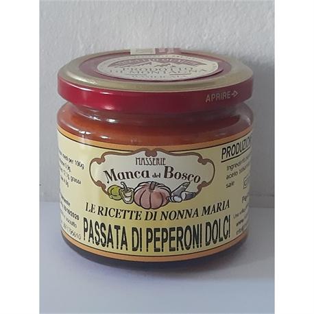 passata di  peperoni dolci