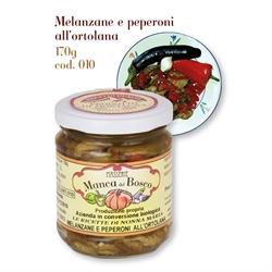 Melanzane e Peperoni all'ortolana 010