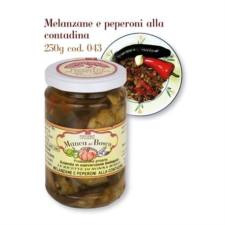 Melanzane e peperoni alla contadina 043