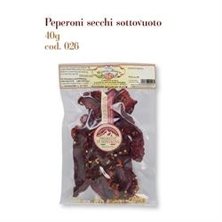 Peperoni secchi sottovuoto 026